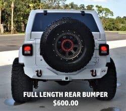 Full Length Rear Bumper - $600