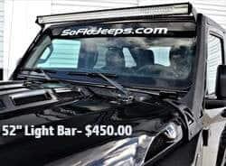 """52"""" Light Bar- $450.00"""