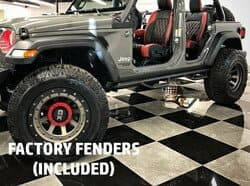 Factory Fenders (included)