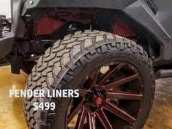DV8 Fender Liners- ($499)