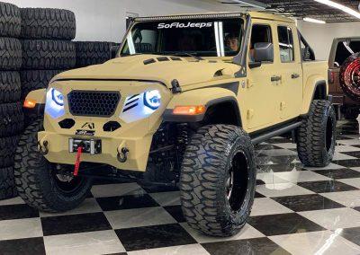 2020 Custom Jeep Gladiator Desert Storm