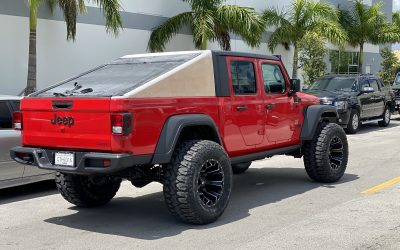 Humvee Style Fastback Top for Jeep Gladiator