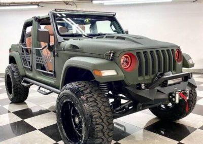Custom Jeep Wrangler JL