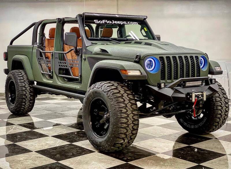 2020 Custom Jeep Wrangler Unlimited Sahara
