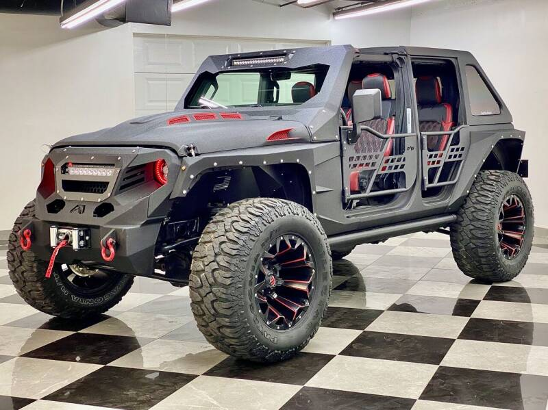 2020 Custom Jeep Wrangler Unlimited Sahara
