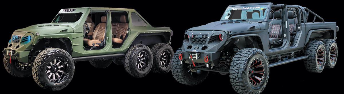 Custom Jeep 6x6