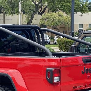 custom Jeep Gladiator roll cage