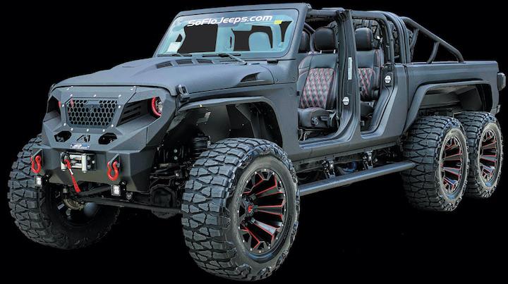 Custom Jeep Gladiator 6x6