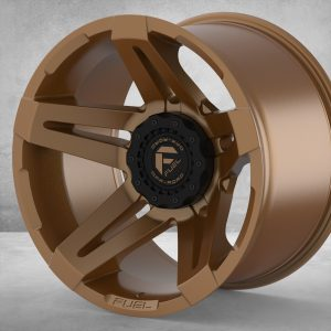 Custom SofLo Fuel forged rime