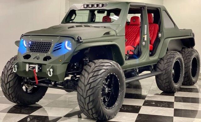 2020 jeep wrangler unlimited turbo diesel 6x6 8