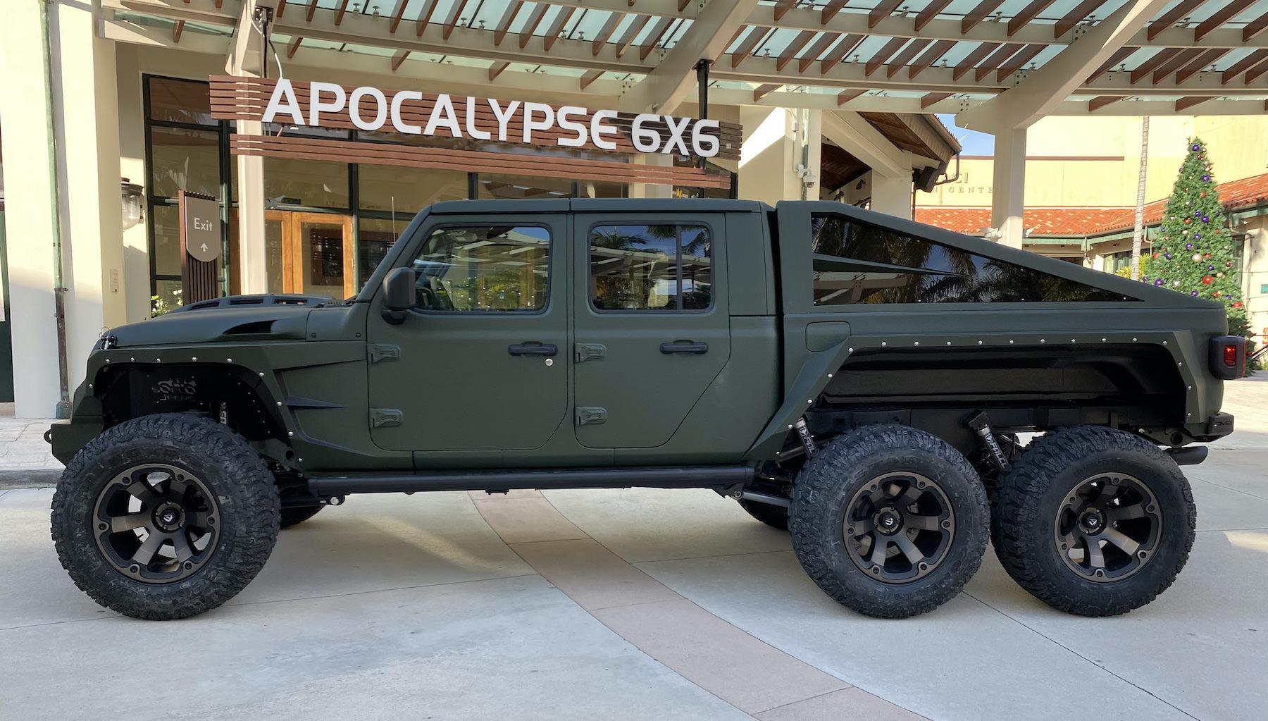 Apocalypse 6x6 Custom Jeep