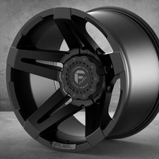 "SoFlo Custom Fuel Forged Black 20"" $450/wheel"