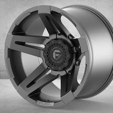 """SoFlo Custom Fuel Forged Silver 20"""" $450/wheel"""
